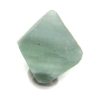Green Fluorite Crystal  Octahedron