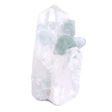 Fluorite and Quartz Crystals