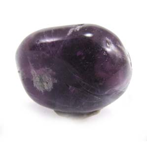 Polished Purple Fluorite Crystal