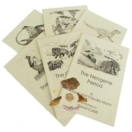 Life: The Age of Vertebrates Book and Fossil Set