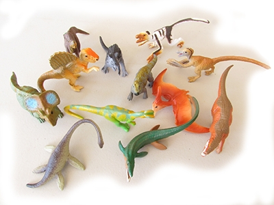 Miniature Prehistoric Environment Animal Sets Cretaceous Set B
