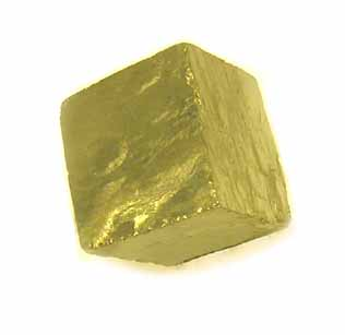 Pyrite Cube, 1/2 inch