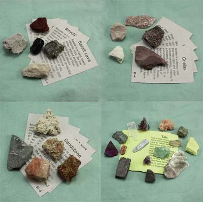 Rock and Mineral Collection, 30 specimens