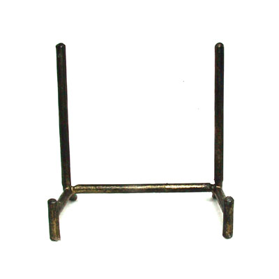 display stand welded steel rod h frame small