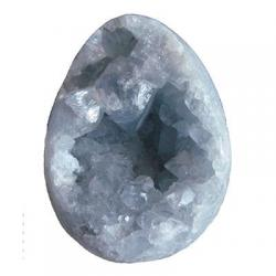 Celestite Crystal Egg 3 x 2 G
