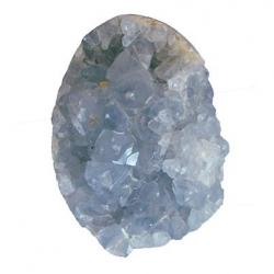 Celestite Crystal Egg 3 x 2 H