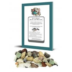 Rock and Mineral Collection, 60 specimens with Complete Rock and Mineral Curriculum