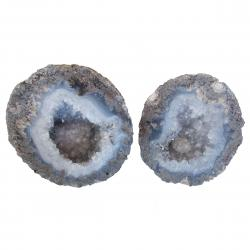 Geode Pair 3 inches across AA