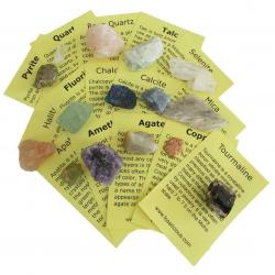 Mineral Collection, 15 piece with information cards