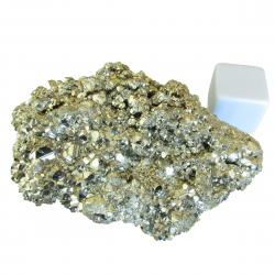 Iron Pyrite Crystal Cluster 1 pounds A