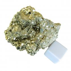 Iron Pyrite Crystal Cluster 1.5 pounds D