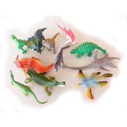 Miniature Prehistoric Environment Animal Sets Cretaceous Set A