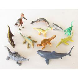 Miniature Prehistoric Environment Animal Sets Mesozoic Set A